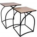 wholesale Pendant: Metal Table Loma, Set of 2, D40 / 34,5cm, H54 / 49